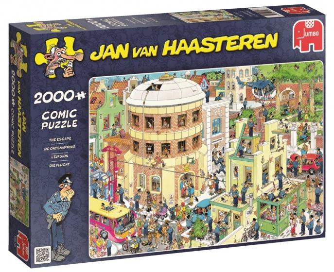 Jumbo Jan van Haasteren De Ontsnapping legpuzzel 2000 stukjes