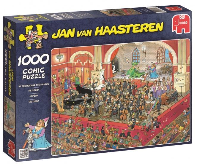 Jumbo Jan van Haasteren De Opera legpuzzel 1000 stukjes