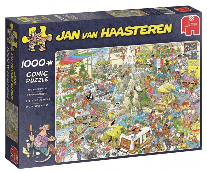 Puzzel Jvh: The Holiday Fair 1000 Stukjes Per stuk