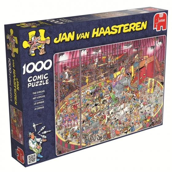 Jumbo Jan van Haasteren Het Circus legpuzzel 1000 stukjes
