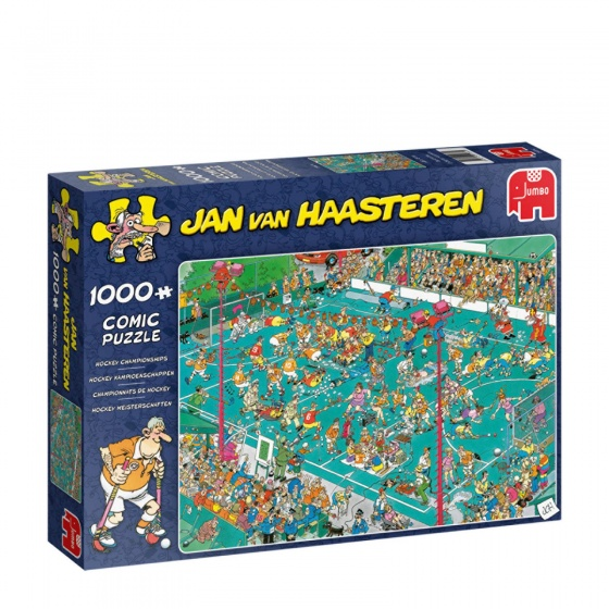 Jan van Haasteren Hockey kampioenschappen 1000 stukjes