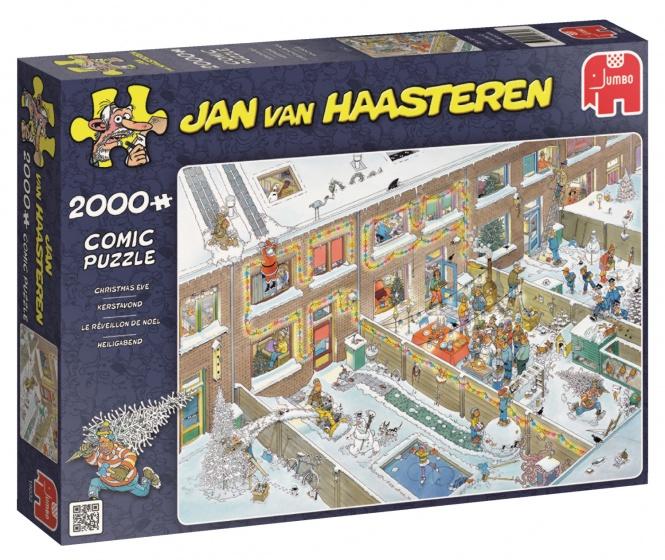 Jumbo Jan van Haasteren Kerstavond legpuzzel 2000 stukjes