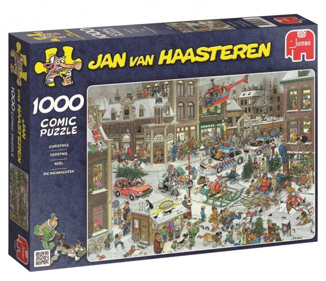 Jumbo Jan van Haasteren Kerstmis legpuzzel 1000 stukjes
