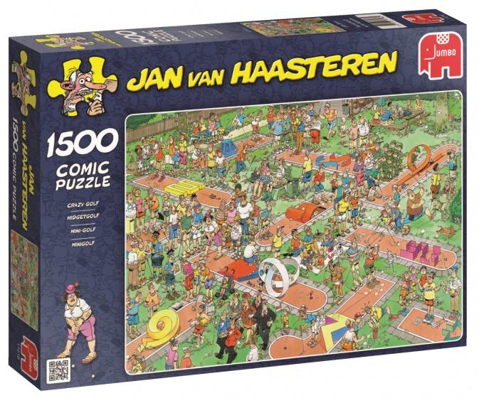 Jumbo Jan van Haasteren Midgetgolf legpuzzel 1500 stukjes