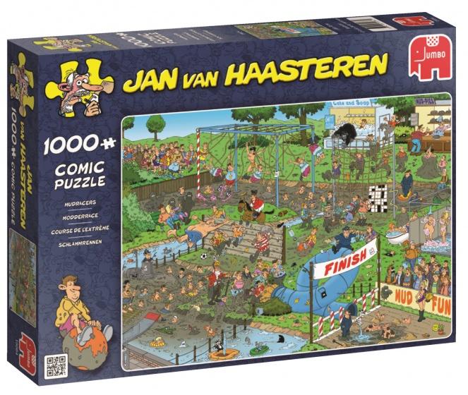 Jumbo Jan van Haasteren Modderrace legpuzzel 1000 stukjes