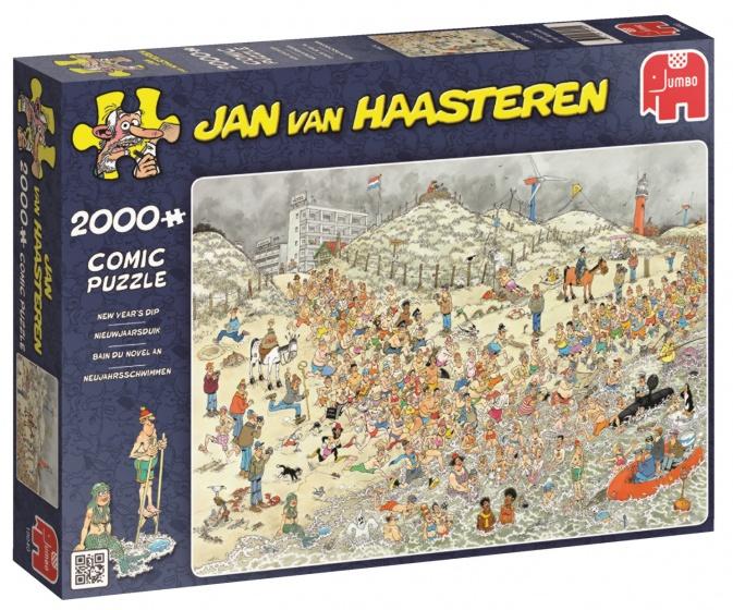 Jumbo Jan van Haasteren Nieuwjaarsduik legpuzzel 2000 stukjes