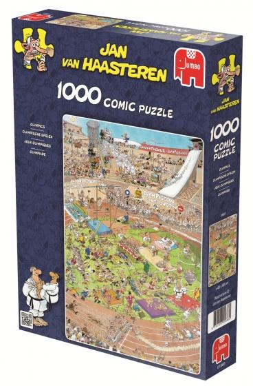 Jumbo Jan van Haasteren Olympische Spelen puzzel 1000 stukjes