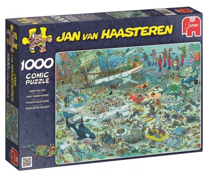 Jumbo Jan van Haasteren Onderwater Wereld puzzel 1000 stukjes