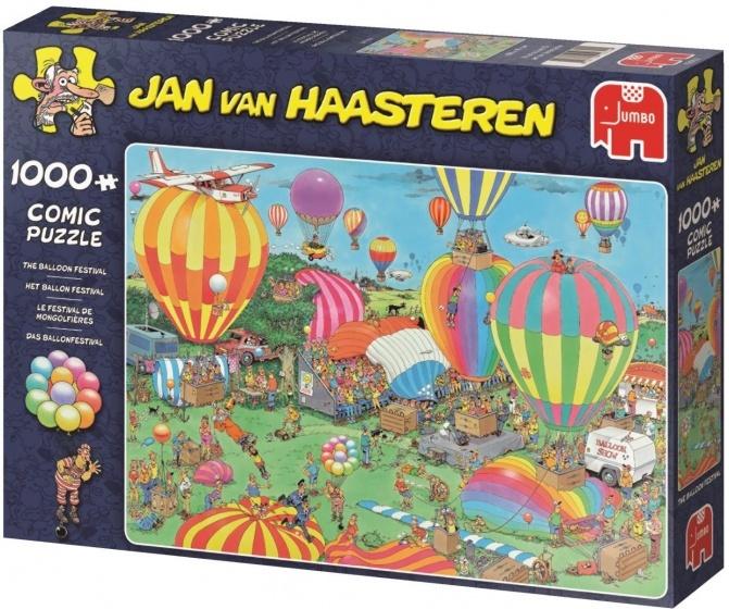 Jumbo Jan van Haasteren puzzel Ballon Festival 1000 stukjes