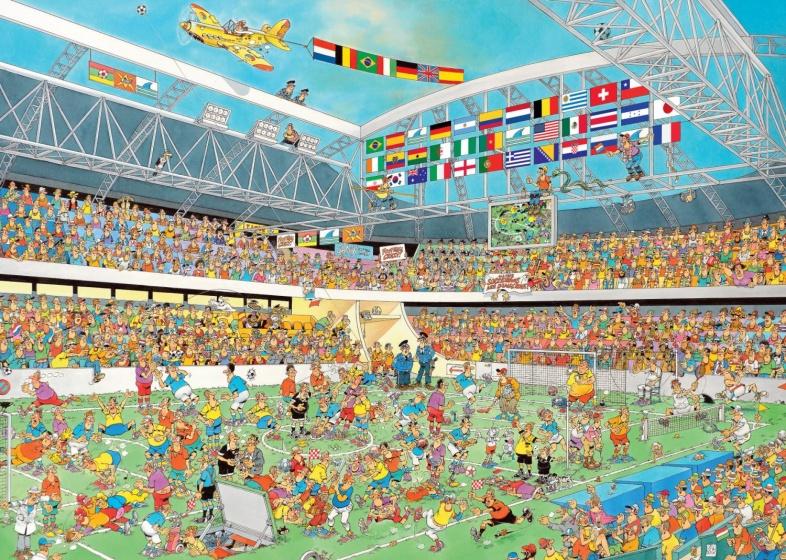 Jumbo Jan van Haasteren puzzel football 1000 stukjes