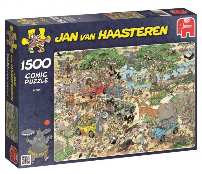 Jumbo Jan van Haasteren Safari legpuzzel 1500 stukjes