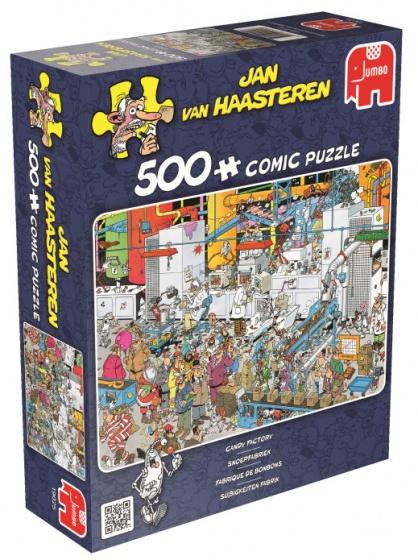 Jumbo Jan van Haasteren Snoepfabriek legpuzzel 500 stukjes