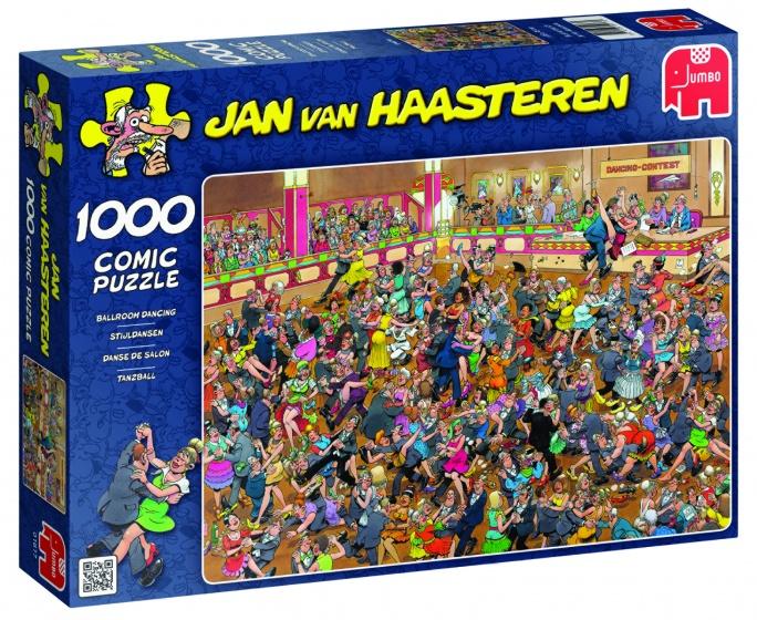Jumbo Jan van Haasteren Stijldansen legpuzzel 1000 stukjes