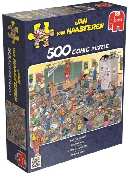 Jumbo Jan van Haasteren Vang de Muis legpuzzel 500 stukjes