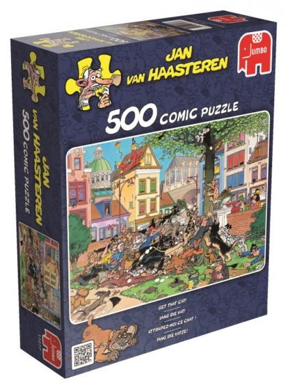 Jumbo Jan van Haasteren Vang Die Kat legpuzzel 500 stukjes