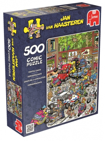 Jan van Haasteren Traffic Chaos 500st Stuk