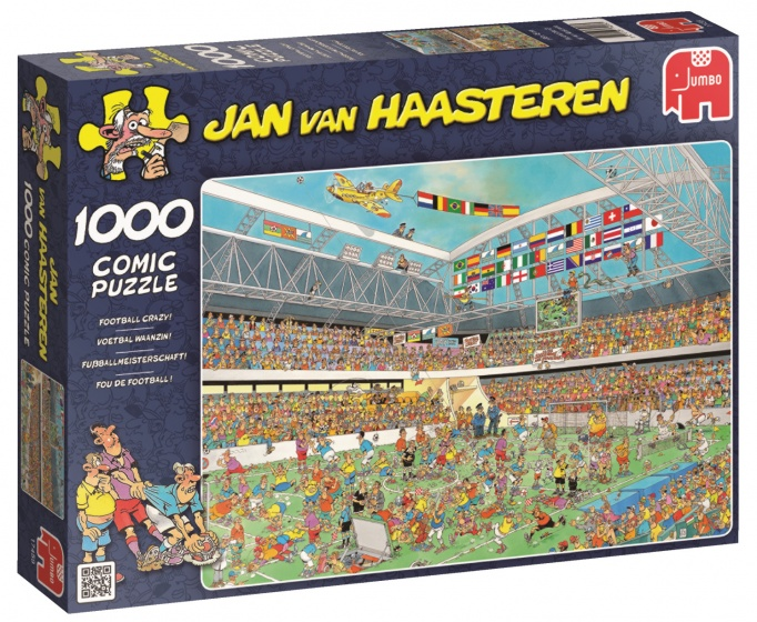 Puzzel Jvh Football 1000st