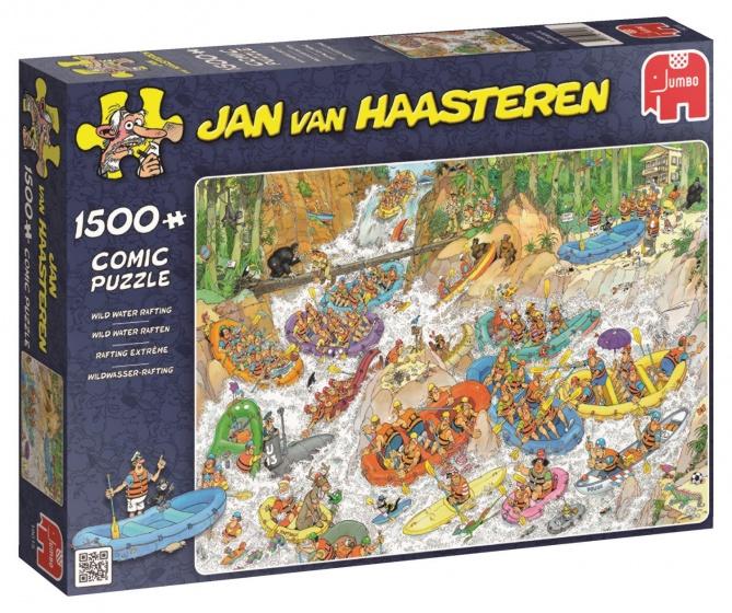 Jumbo Jan van Haasteren Wild Water Raften puzzel 1500 stukjes