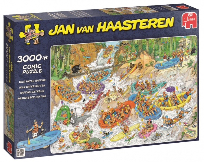 Jumbo Jan van Haasteren puzzel strand 3000 stukjes