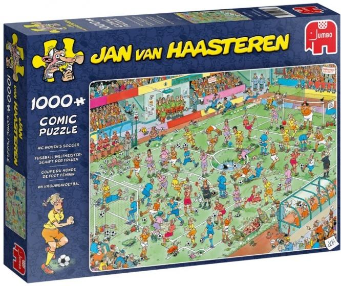 Jan van Haasteren WK Vrouwenvoetbal puzzel