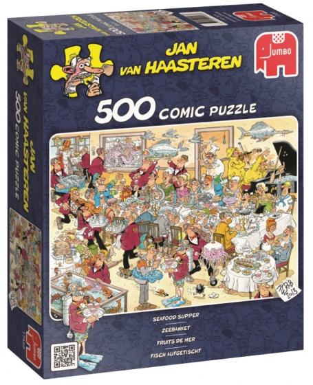 Jumbo Jan van Haasteren Zeebanket legpuzzel 500 stukjes
