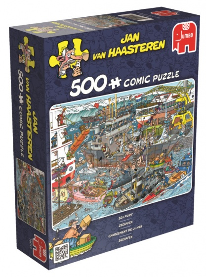 Jumbo Jan van Haasteren Zeehaven legpuzzel 500 stukjes