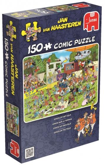 Jumbo JvH Chaos Op Het Veld legpuzzel 150 stukjes
