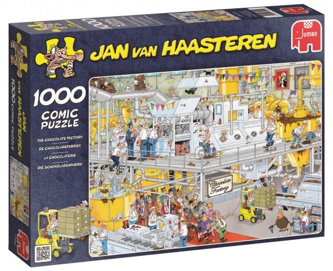 Jan van Haasteren Chocolade Fabriek -