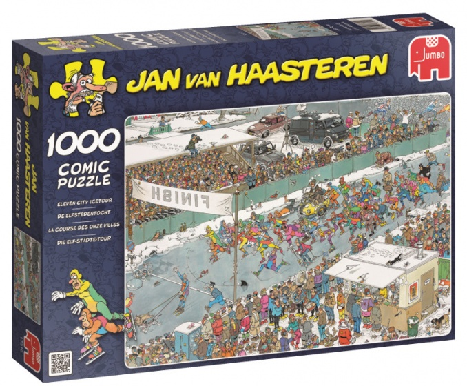 Jumbo JvH De Elfstedentocht legpuzzel 1000 stukjes