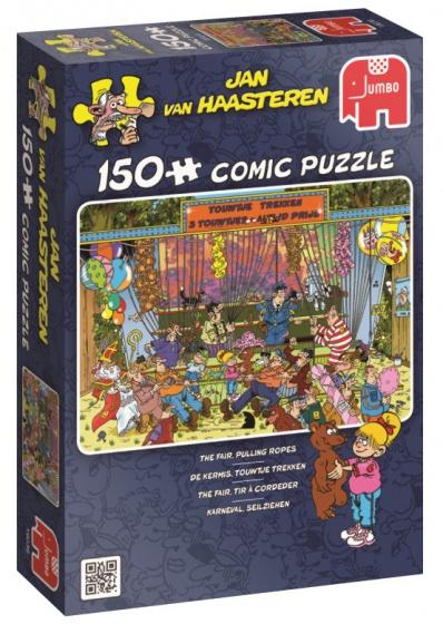 Jumbo Jan van Haasteren puzzel Kermis touwtje trekken 150 stukjes