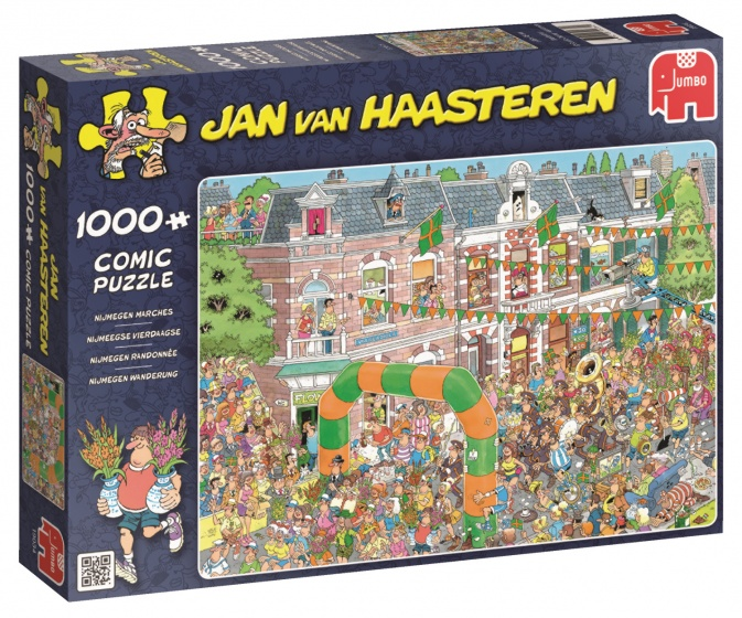 Jumbo Jan van Haasteren puzzel Nijmeegse Vierdaagse 1000 stukjes