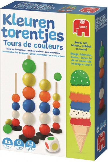 child's play color towers 19 cm