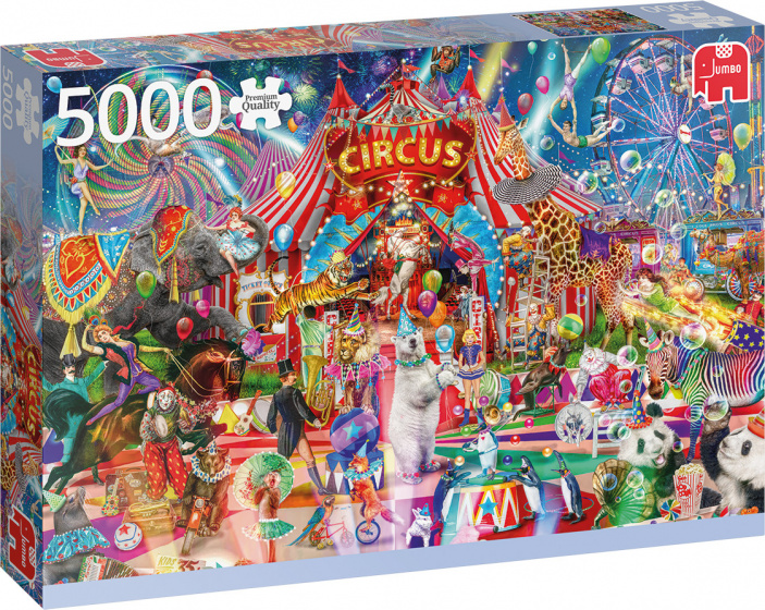 Jumbo legpuzzel A Night at the Circus 156 x 107 cm 5000 stukjes
