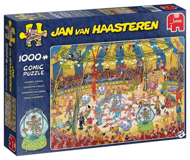 Jan van Haasteren Acrobaten circus puzzel