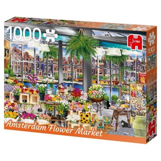 Jumbo legpuzzel Amsterdam Flower Market 1000 stukjes