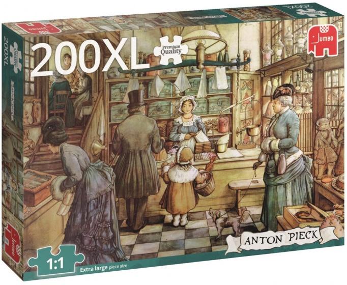 Jumbo legpuzzel Anton Pieck Bakkerij 200 stukjes XL