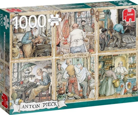 Anton Pieck - Craftmanship puzzel
