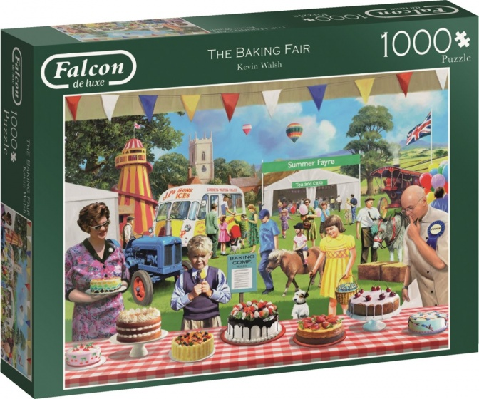 Jumbo falcon legpuzzel The Baking Fair 1000 stukjes
