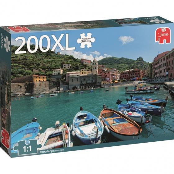 Jumbo legpuzzel Cinque Terre 200 stukjes XL