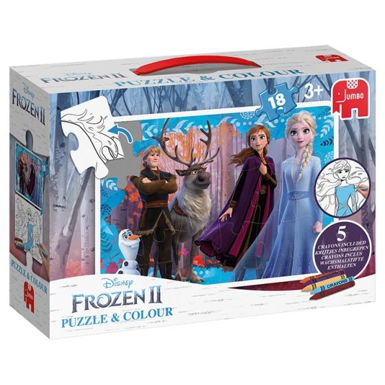 Jumbo legpuzzel Disney Frozen 2 18 stukjes