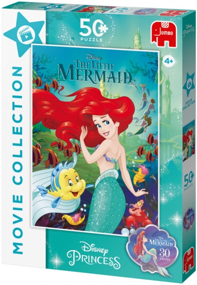 Jumbo legpuzzel Disney Prinses Ari�l 50 stukjes