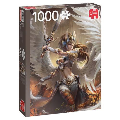 Jumbo legpuzzel Engelenkrijger 1000 stukjes