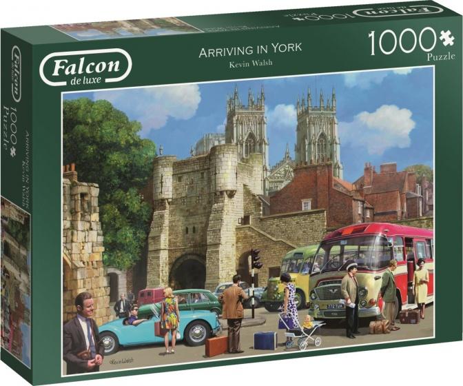 Jumbo legpuzzel Falcon Arriving In York 1000 stukjes