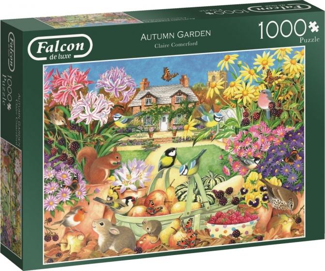 Jumbo legpuzzel Falcon Autumn Garden 1000 stukjes