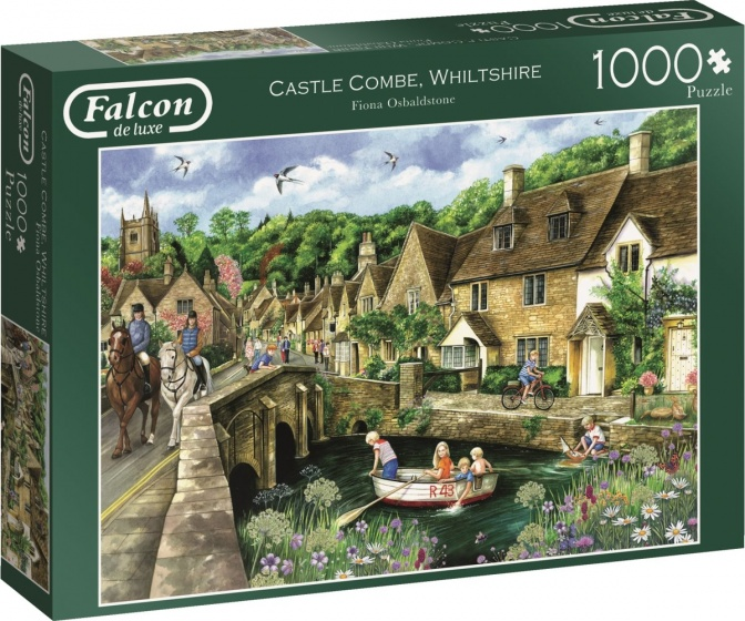 Jumbo legpuzzel Falcon Castle Combe, Wiltshire 1000 stukjes