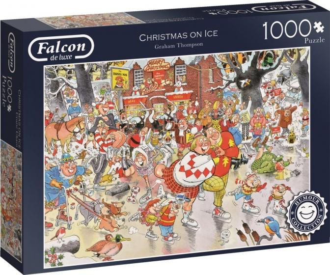 Jumbo legpuzzel Falcon Christmas On Ice 1000 stukjes