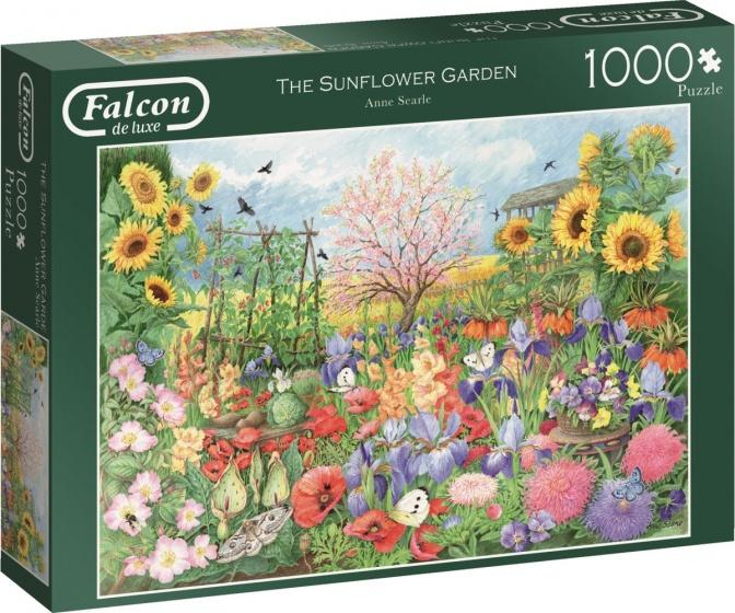 Jumbo legpuzzel Falcon The Sunflower Garden 1000 stukjes