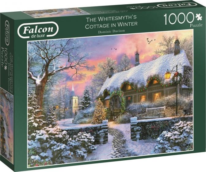 Jumbo legpuzzel Falcon The Whitesmith's Cottage 1000 stukjes