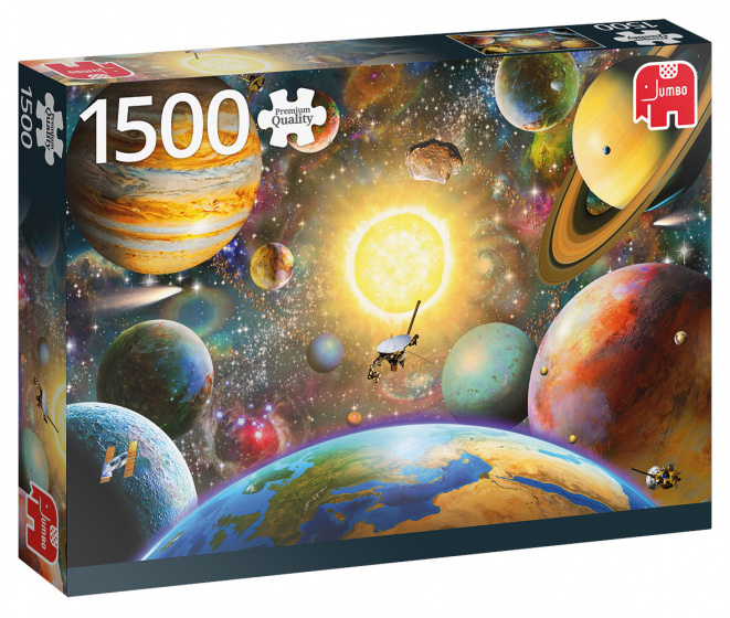 Jumbo legpuzzel Floating in Outer Space 1500 stukjes