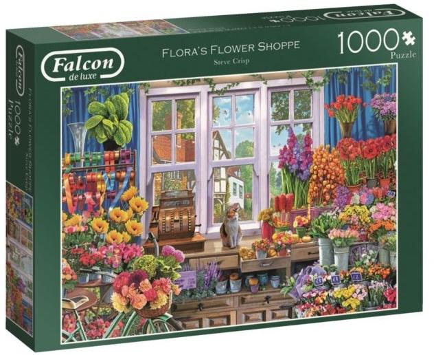 Jumbo Falcon legpuzzel Flower Shoppe 1000 stukjes